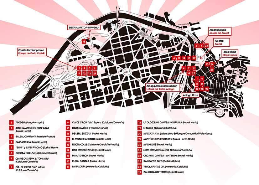 Mapa kalealdia 2020