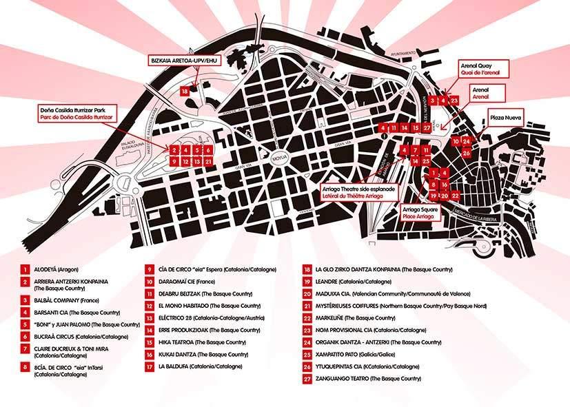 Kalealdia 2020 mapa